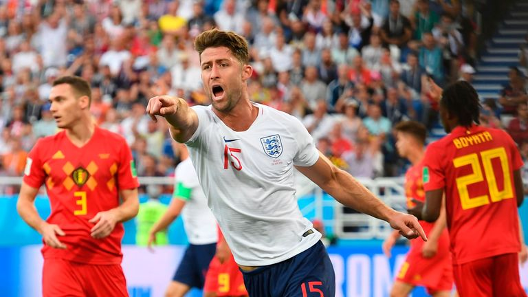 Cahill played against Belgium in the World Cup Group G clash in June
