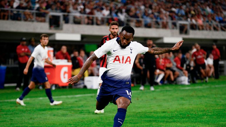 Georges-Kevin Nkoudou has struggled to force his way into the first-team picture at Spurs