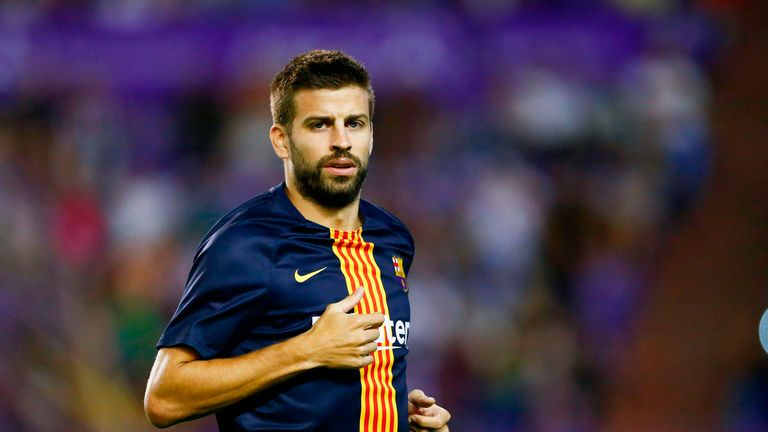 Pique says Paul Pogba would be welcomed at Barcelona