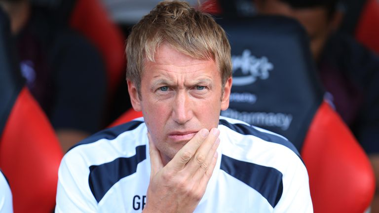 Swansea City manager Graham Potter