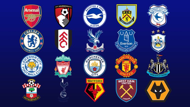 Premier league clubs ranked for age height and experience football news sky sports - French premier league table ...