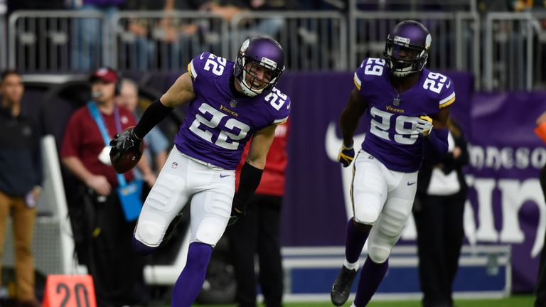 According to Pro Football Focus, Vikings safety Harrison Smith was the best player in the entire league in 2017