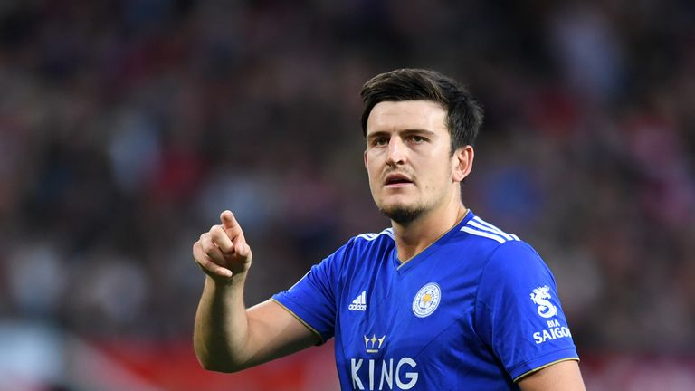 Maguire played in all Leicester's Premier League games last season