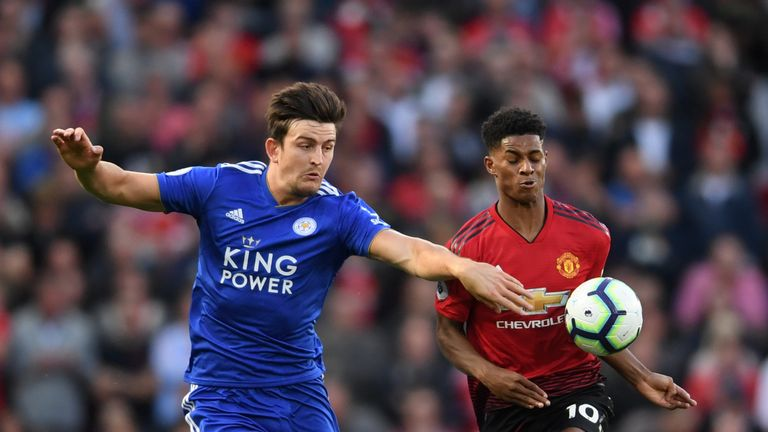 Harry Maguire was linked with a move to Manchester United in the summer