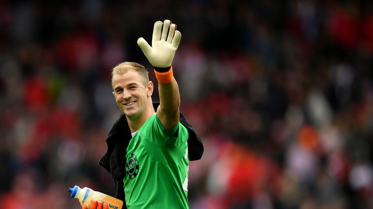 Joe Hart joined Burnley this summer on a two-year deal