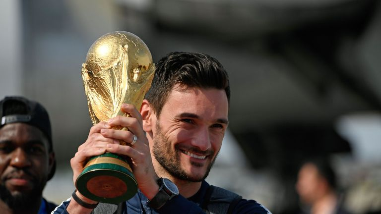 Hugo Lloris captained France to World Cup glory in the summer