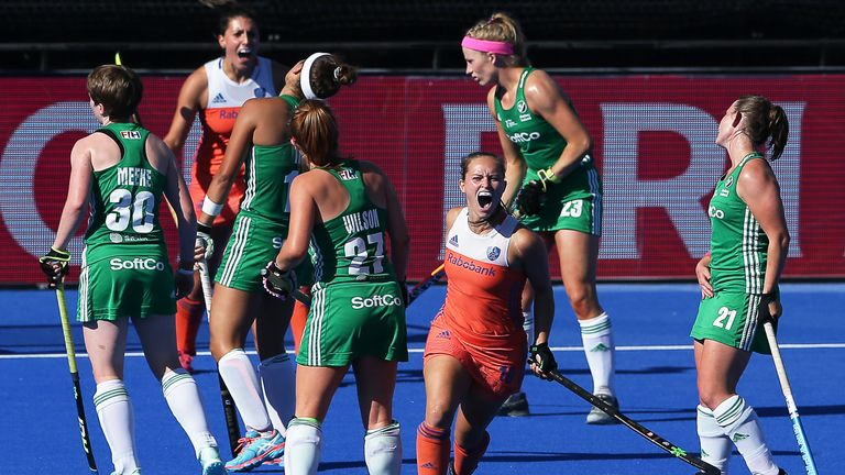 Ireland stunned Spain in the semi-finals but were unable to dethrone the world champions