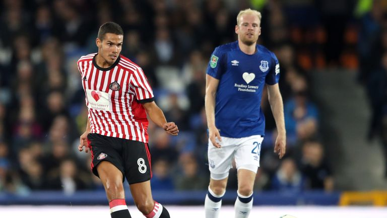 Jack Rodwell is training at Everton after he left Sunderland earlier in the summer
