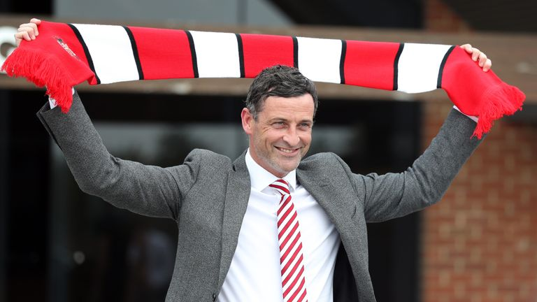 Jack Ross has taken charge at Sunderland
