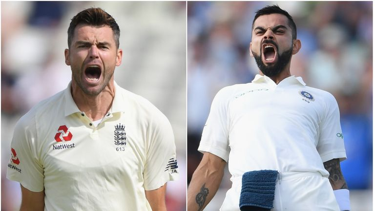 England's James Anderson and India's skipper Virat Kohli appear likely to go head-to-head in 2021 again