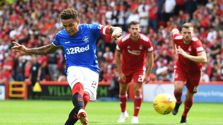 James Tavernier secured a Rangers win on the Scottish Premiership opening day