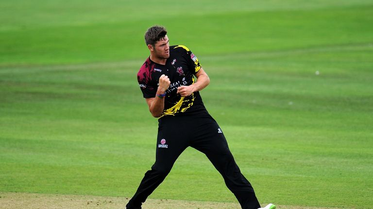 TAUNTON, ENGLAND - AUGUST 03: during the Vitality Blast match between Somerset and Essex Eagles at the Cooper Associates County Ground on August 3, 2018 in Taunton, England. (Photo by Harry Trump/Getty Images)