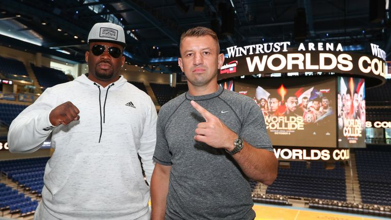 Jarrell Miller faces Tomasz Adamek in the early hours of Sunday morning