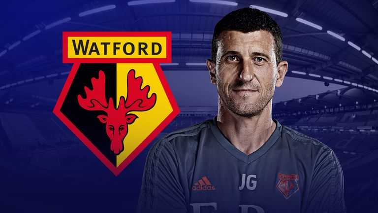 Javi Gracia's Watford sit third in the Premier League