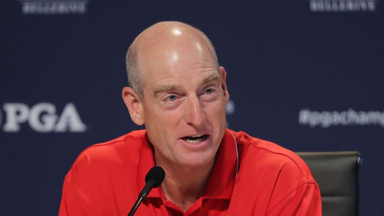Jim Furyk will name his first three wildcards after the Dell Technologies Championship
