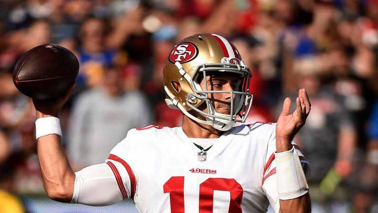 Jimmy Garoppolo has 49ers fans dreaming of a return to the playoffs
