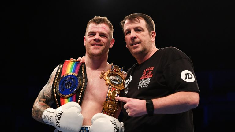 Callum Johnson's trainer Joe Gallagher questioned whether a fight was 'too soon' for Buatsi