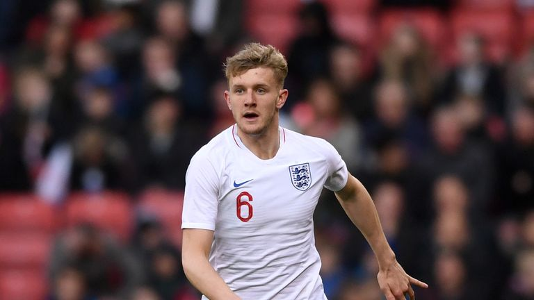 Worrall has won three caps for England U21s