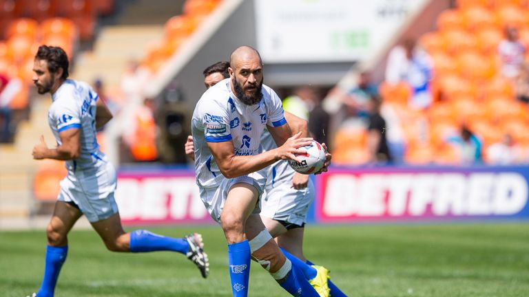 Toulouse face Halifax RLFC in the second round of the Super 8s Qualifiers