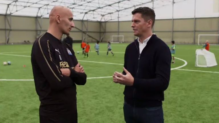 Shelvey spoke exclusively to Sky Sports' Pat Davison ahead of their clash with Cardiff