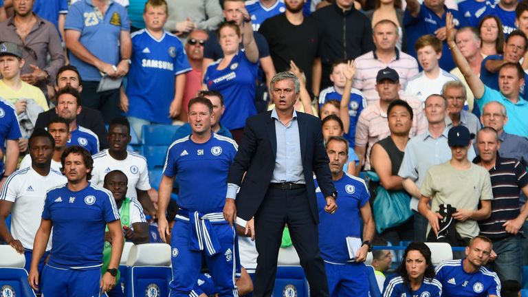 Mourinho had a meltdown as Chelsea manager against Swansea in 2015