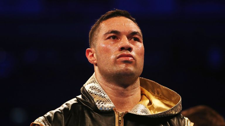 Joseph Parker is considering next career move after loss to Dillian Whyte