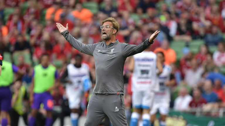 Jurgen Klopp wants his Liverpool players to step up after the club's big summer spending