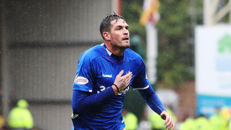 Kyle Lafferty is back in the fold for Rangers