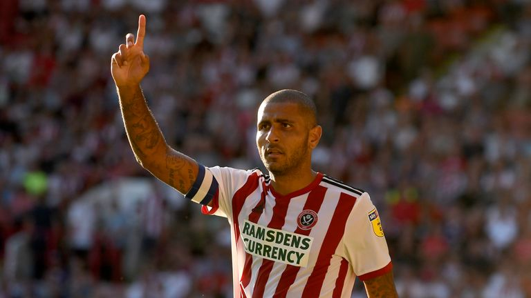 Leon Clarke is an injury doubt for Sheffield United
