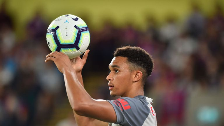 Liverpool players like Trent Alexander-Arnold now receive specialist coaching to take throw-ins