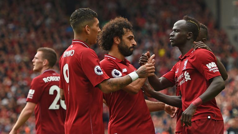 Liverpool are three from three in the Premier League so far this season