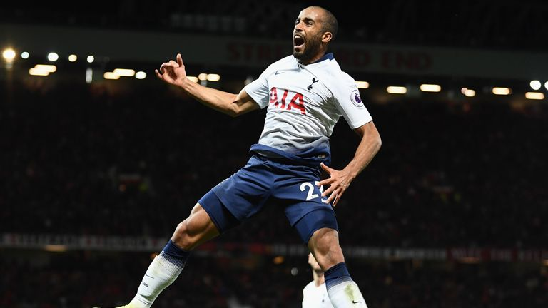 Tottenham winger Lucas Moura returns to the Brazil squad after a two-year absence