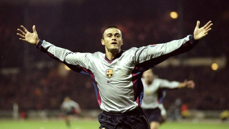 Luis Enrique won league titles with both Barcelona and Real Madrid