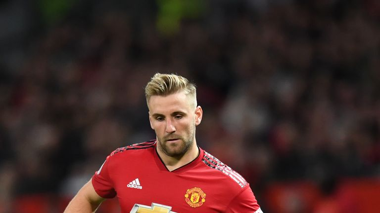 Luke Shaw will play against Young Boys in the Champions League