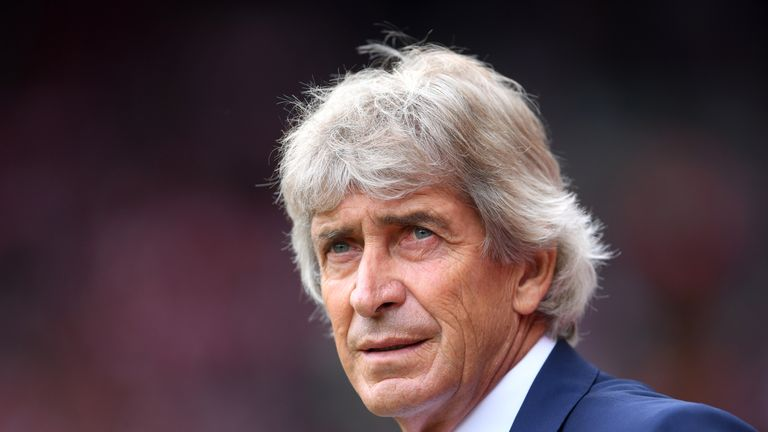 Manuel Pellegrini says West Ham will train in the ground more before home games
