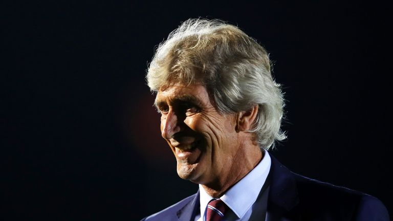 Manuel Pellegrini's West Ham avoided an upset in the Carabao Cup
