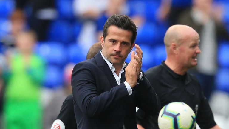 Everton manager Marco Silva says he is unfazed by a 'tapping-up' investigation