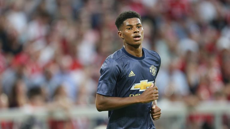 Marcus Rashford doesn't need to be included on United's 'A' squad due to being native player born in 1997 or later