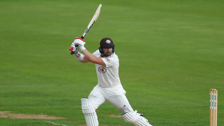 Mark Stoneman scored his first century for Surrey in the County Championship this season