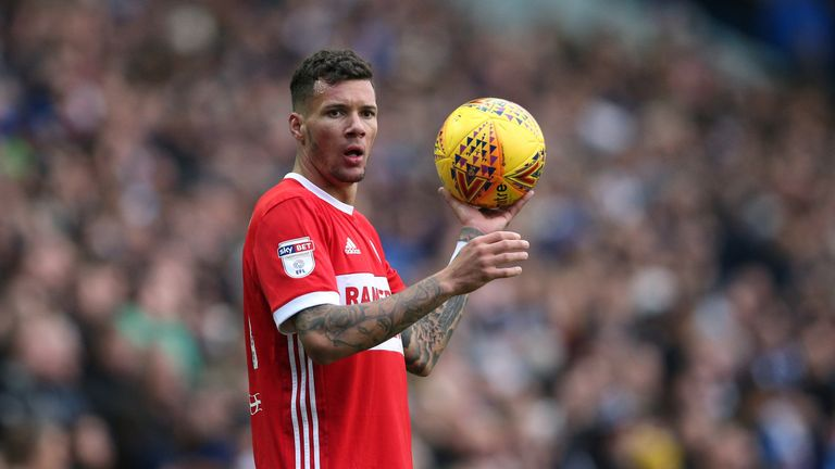 Marvin Johnson is under contract at Middlesbrough until 2020