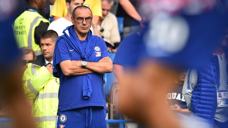 Maurizio Sarri has been backed to lead a serious Chelsea challenge for the Premier League title