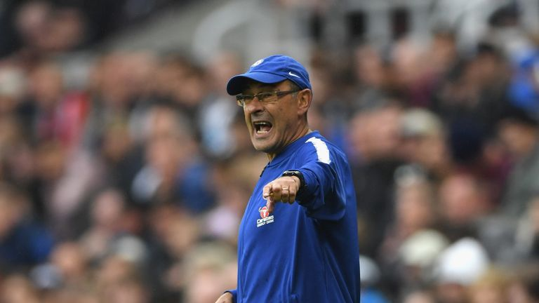 Maurizio Sarri says he only found out about his departure when he switched on his television