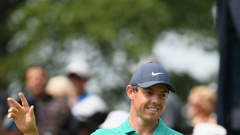 McIlroy broke 70 only once at the PGA Championship
