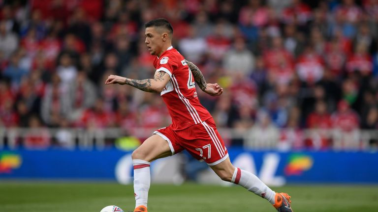 Mo Besic in action for Middlesbrough last season
