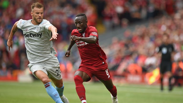 West Ham were beaten 4-0 by Liverpool on the opening day
