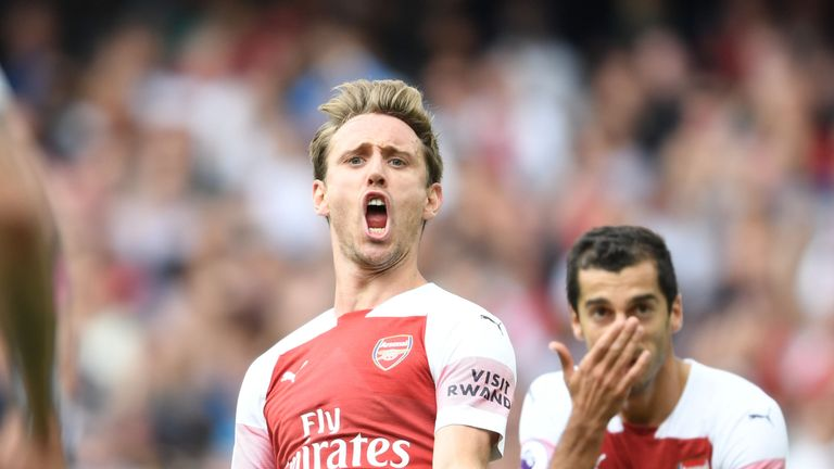 Nacho Monreal has been linked with a move to Barcelona