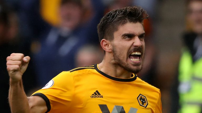 Ruben Neves, described as 'excellent' by Guardiola, has impressed for Wolves in his debut Premier League campaign