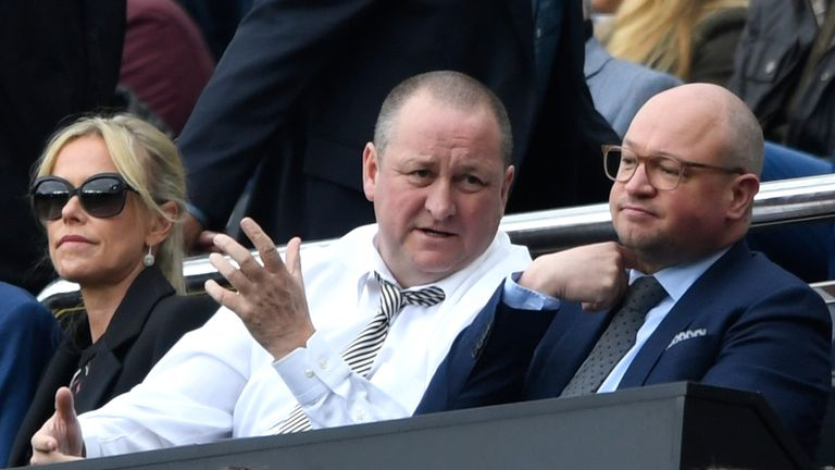 Mike Ashley has been criticised for Newcastle's lack of spending in the transfer market