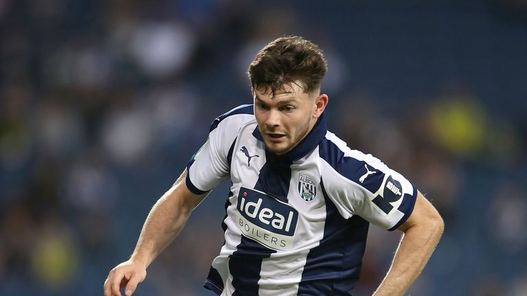 Burke played just 21 times in 18 months at West Brom