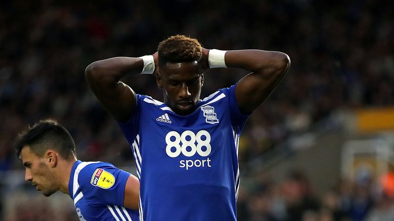 Birmingham had 17 attempts on goal, while Swansea failed to find the target with any of their six efforts